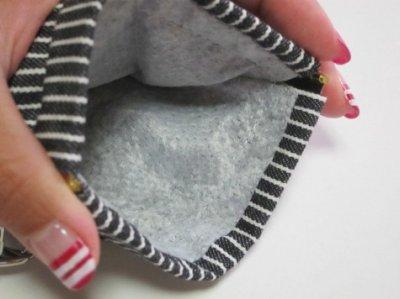 画像1: 消臭マナーポーチ(hickory)gray